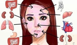 Co mogą oznaczać pryszcze na twarzy?