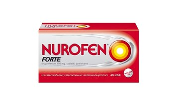 Nurofen Forte - silniejszy brat Nurofenu