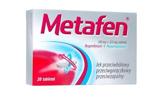 Metafen – ibuprofen i paracetamol w jednej tabletce
