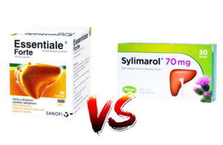 Essentiale Forte vs Sylimarol – co na wątrobę?