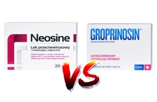 Neosine vs Groprinosin – nie daj się wirusom!