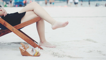 Piękne i zadbane stopy latem