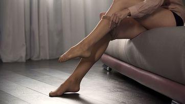 Pończochy uciskowe na zmęczone i obolałe nogi