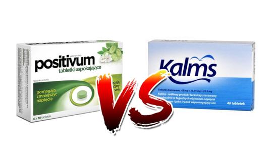 Positivum vs Kalms - co i dlaczego wybrać na stres i uspokojenie