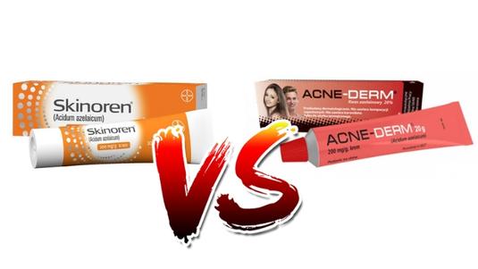 Skinoren vs Acne-Derm – który krem wybrać na trądzik