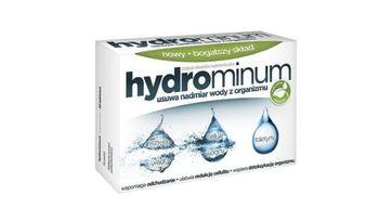 Hydrominum jest suplementem diety na obrzęki, opuchliznę i usuwanie nadmiaru wody z organizmu