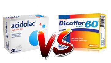Acidolac vs Dicoflor – porównanie popularnych probiotyków