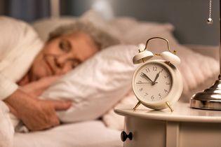 Problemy ze snem u seniorów