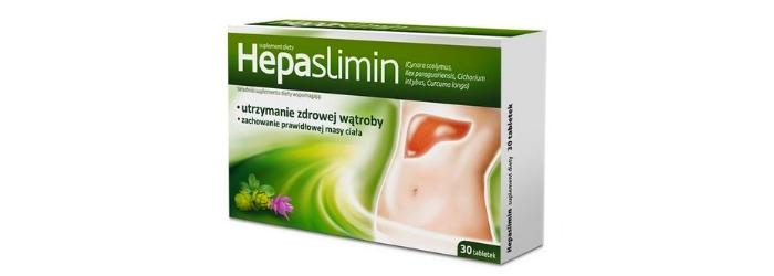 Hepaslimin tabletki na wątrobę i odchudzanie