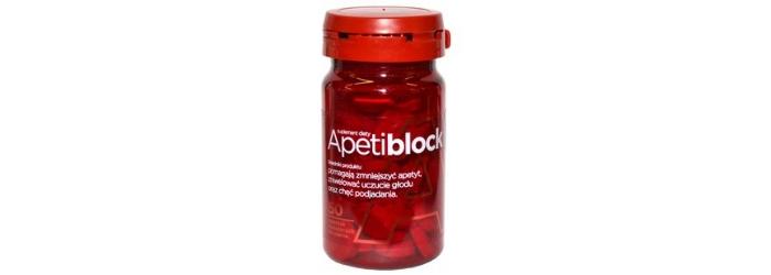 Apetiblock tabletki na odchudzanie