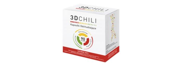 3D Chili kapsułki na odchudzanie