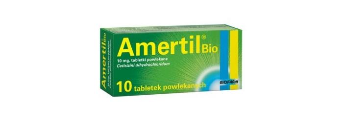 Amertil Bio lek na alergię