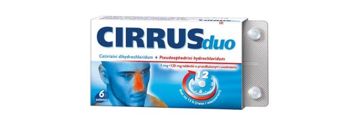 Cirrus duo lek na alergię