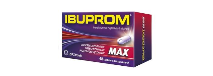Ibuprom Max tabletki przeciwbólowe