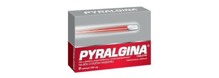 Pyralgina tabletki przeciwbólowe