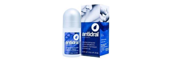 Antidral – lek na nadmierną potliwość