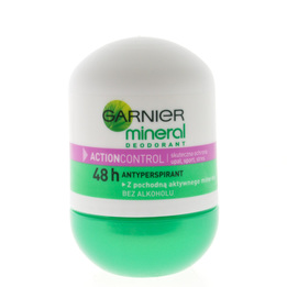 Mineral Deodorant, Action Control Roll-On
