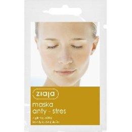 Maska anty-stres z glinką żółtą