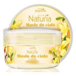 Naturia Body, masło do ciała z wanilią