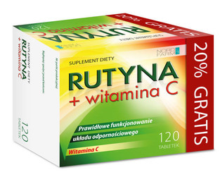 RUTYNA + witamina C
