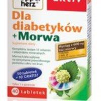 Doppelherz Aktiv - Dla diabetyków + morwa