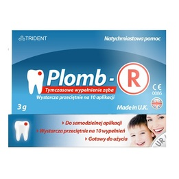 Plomb-R - Tymczasowe Wypełnienie Zęba