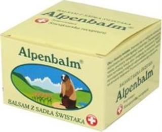 Alpenbalm balsam z sadła świstaka