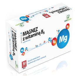 Magnez Z Witaminą B6 Naturgarden