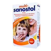 Multi-Sanostol syrop wielowitaminowy dla dzieci