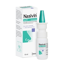 Nasivin Soft 0,025% aerozol do nosa