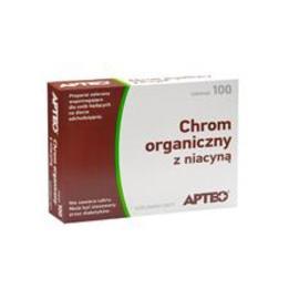 Chrom Organiczny Z Niacyną