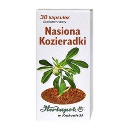 Nasiona Kozieradki Kapsułki