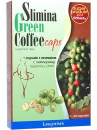 Slimina Green Coffee Caps