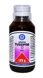 Sirupus Tussipini D