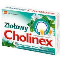 Cholinex Ziołowy o smaku mentolu i eukaliptusa