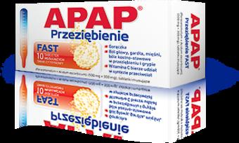 (Apap Przeziębienie Fast) Apap ból i gorączka C plus