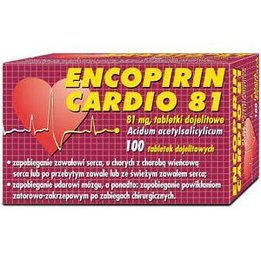 Encopirin Cardio 81 tabletki