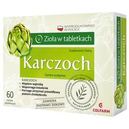 Karczoch - Zioła w tabletkach