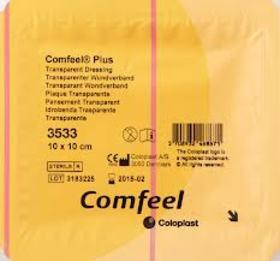 Comfeel Plus opatrunek przezroczysty