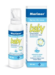 Marimer Baby izotoniczny spray do nosa