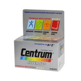 Centrum kompletne od A do Z Silver 50+