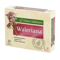 Waleriana - Zioła w tabletkach