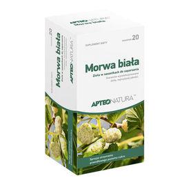Apteo Morwa Biała zioła do zaparzania