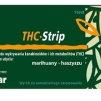 THC-Strip Test do wykrywania narkotyków w moczu