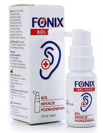 Fonix spray na ból uszu