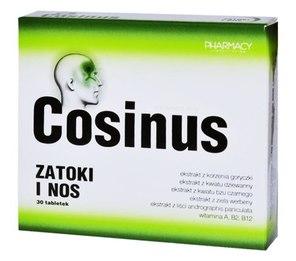 Cosinus Zatoki i Nos tabletki