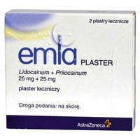 Emla plaster leczniczy