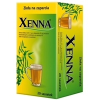 Xenna zioła do zaparzania w saszetkach