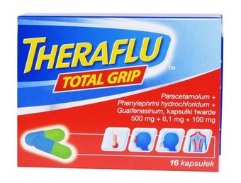 Theraflu Total Grip Kapsułki
