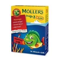 Moller's Omega - 3 Rybki, żelki